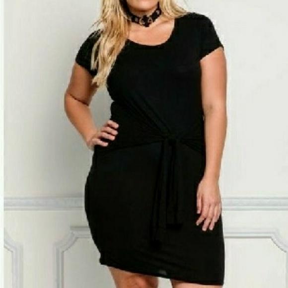 Dresses Black Bodycon Dress Plus Size Poshmark